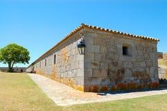 inkvartera i en barack fästningen Arkivbilder
