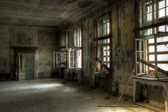 inkvartera i en barack leaved ryss Royaltyfri Fotografi