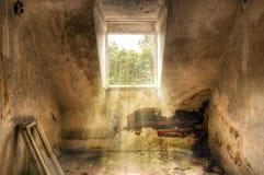 inkvartera i en barack ryss Arkivbilder