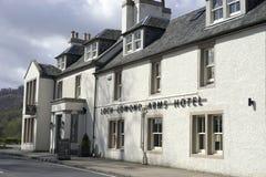 Inkvartera i skotsk Skotska högländerna Royaltyfria Foton