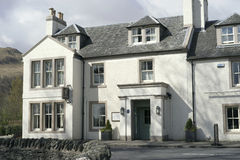 Inkvartera i skotsk Skotska högländerna Royaltyfria Bilder