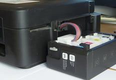 Inkwell printer Stock Image