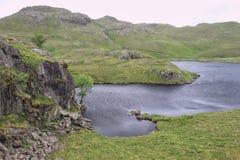 Inky błękitny nawadnia Jeziorny Gromadzki halny Tarn Obraz Royalty Free
