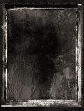 Inky grunge film frame Stock Photo