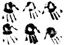 Free Inky Hands Stock Image - 5958781