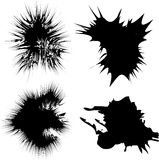 Inky splats Royalty Free Stock Image