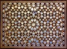 Fostra av pärlemorfärg mosaik från Istanbul Royaltyfri Fotografi