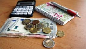 Inländische Buchhaltung Lizenzfreies Stockfoto