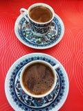 Inländischer Kaffee in Istanbul lizenzfreies stockfoto
