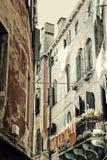 Inländisches Leben Venedigs Stockfotos