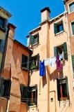 Inländisches Leben Venedigs stockbilder