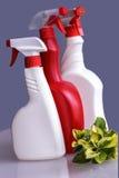 Inländisches Reinigungsmittel Stockfotografie
