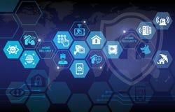 Inländisches Wertpapier-Schutz-Hintergrund
