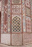 inlagd stonework royaltyfria bilder