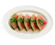 inlagd vattenmelon Royaltyfria Bilder