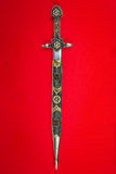 Inlaid antique dagger Royalty Free Stock Photos