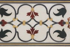 Inlaid Marble Royalty Free Stock Photo