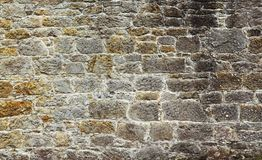 Inlaid stone wall Royalty Free Stock Photos