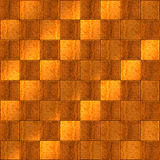 Inlaid Wood Checkerboard Floor Royalty Free Stock Photo