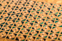 Inlaid wood Royalty Free Stock Photo