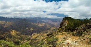 Inland Central Gran Canaria, Artenara area Stock Image