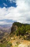 Inland Central Gran Canaria, Caldera de Tejeda Royalty Free Stock Images