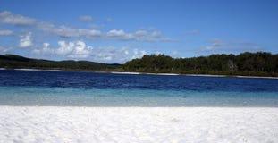 Inland Freshwater lake Fraser Island Australia Stock Images