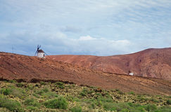 Inland Fuerteventura Royalty Free Stock Images