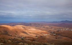 Inland Fuerteventura Royalty Free Stock Photos