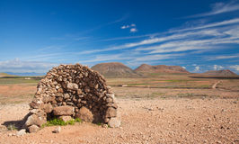 Inland Fuerteventura Royalty Free Stock Photography