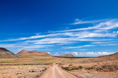 Inland Fuerteventura Royalty Free Stock Photos