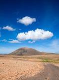 Inland Fuerteventura Stock Photo