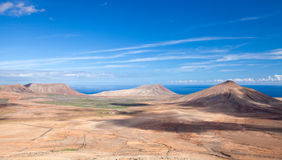 Inland Fuerteventura Stock Photo