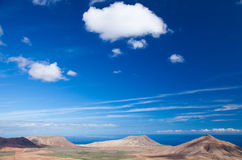 Inland Fuerteventura Royalty Free Stock Photo