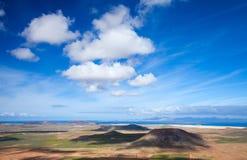 Inland Fuerteventura Royalty Free Stock Image