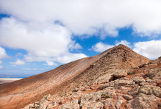 Inland Fuerteventura Royalty Free Stock Images
