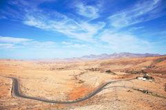 Inland Fuerteventura, Canary Islands stock images