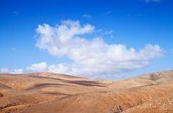 Inland Fuerteventura, Canary Islands Royalty Free Stock Photography