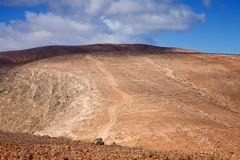 Inland Fuerteventura, Canary Islands Stock Photography