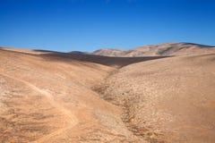 Inland Fuerteventura, Canary Islands Royalty Free Stock Photo