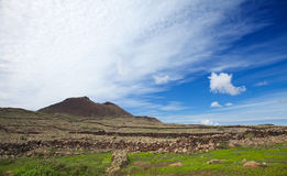 Inland Fuerteventura, Malpais de la Arena Royalty Free Stock Photos