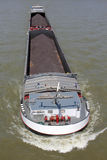 Inland general cargo vessel Royalty Free Stock Photo