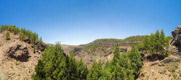 Inland Gran Canaria Royalty Free Stock Images