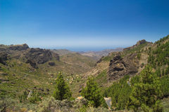 Inland Gran Canaria Stock Images