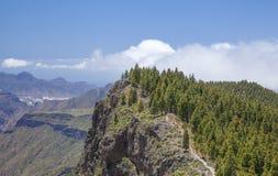 Inland Gran Canaria, hiking path Stock Photography