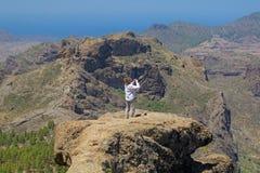 Inland Gran Canaria Stock Image