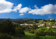Inland Gran Canaria, view towards central mountains Stock Photography