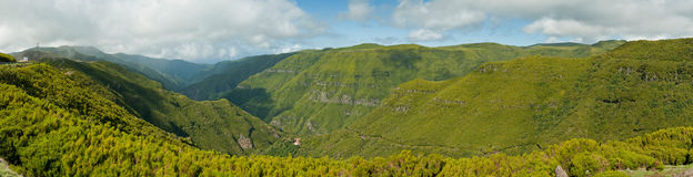 Inland of the island of Madeira Stock Images