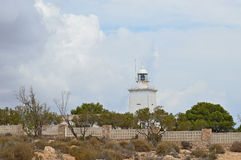 An Inland Lighthouse Royalty Free Stock Photo