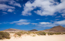Inland Northern Fuerteventura Stock Images